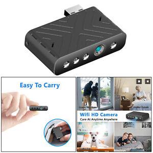 Mini Micro Spy Camera HD mit IR Nachtsichtkamera für Nanny Indoor Home