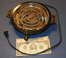 Hamilton Beach Fifth Burner Portable Hot Plate Model 812-2, U.S.A., 750 Watts