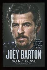 Joey Barton - No Nonsense: The Autobiography; SIGNED 1st/1st