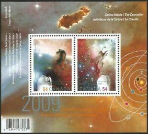 Canada #2323 Year of Astronomy MNH ** souvenir sheet