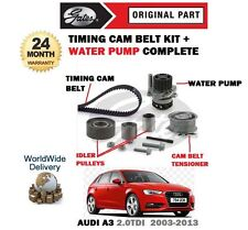 für Audi A3 2.0 TDI 2003-2013 ZAHNRIEMEN SPANNROLLE Set + WASSERPUMPE SET