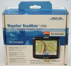 NEW in Box Magellan RoadMate 1200 Car Portable GPS Navigator System USA MAPS