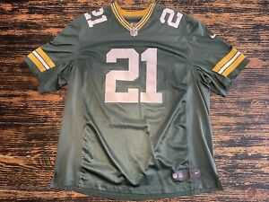 Authentic Nike Charles Woodson #21 Green Bay Packers Jersey XXL