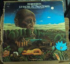 LEONARD BERNSTEIN Stravinsky: Le Sacre Du Printemps LP OOP early-70's classical