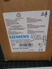 Siemens svolta STARTER 3td42 02 2av0; 400v; NUOVO & OVP