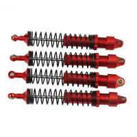90/100/110/120mm Red Adjustable Shock Absorber for 1/10 RC TRX4 Wraith SCX10 D90