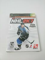 Xbox Nhl 2k7 brand new and sealed free shipping