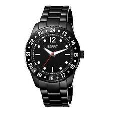 Esprit Bold Black Ladies Watch Luminous Hands Bold 24 Hour Time UK Warranty