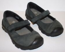 "Pre-worn Little Kid/Toddler ""Libby"" KEEN Dark Leather Shoes US 13, UK 12, EU 31"