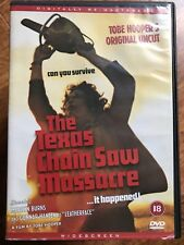 Gunnar Hansen TEXAS CHAINSAW MASSACRE ~ 1974 Tobe Hooper Original Classic UK DVD