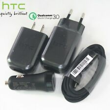 Original QC3.0 18W Quick Wall Charger & USB Type-C Cable For HTC 10 M10 U11 U12+