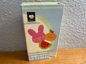Cricut Doodlecharms Watermelon Bunny Pumpkin Snowman Christmas Cartridge L0421