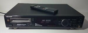 Sharp MD-R2   Minidisc Player   Deck   Recorder   + Fernbedienung