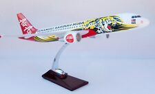 AIR ASIA SEMANGAT A320 TIGER LARGE PLANE MODEL  1:150 AIRPLANE APX 45cm SOLID