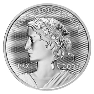 2022 Peace Dollar - Pulsating Effect - 1 OZ Pure Silver UHR Proof Coin - Canada