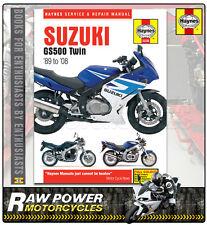 Suzuki GS500 F K4 to K8 (487cc) 2004 - 2008 Haynes Manual (3238)