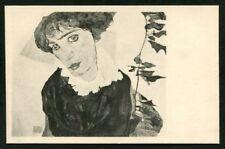 Artist Signed EGON SCHIELE 01  Postcard