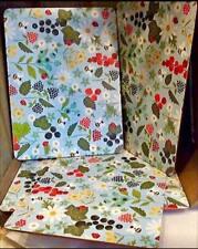 Gisela Graham Set of 4 Kitchen Garden Place mats  Drinks Mats Table 38089