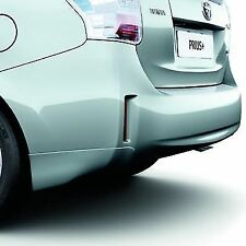 Genuine Toyota Prius+ Rear Skirt (Painted Black 202) 08158-47830-C0