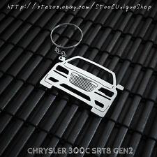 Chrysler 300C SRT8 Gen 2 Stainless Steel Keychain