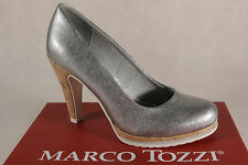 Marco Tozzi Court Shoes Ballerina Slippers Silver 22401 New