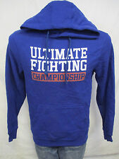 Ultimate Fighting Championship Men's Royal Blue Hooded Sweatshirt
