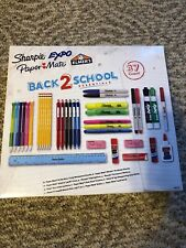 BACK 2 SCHOOL ESSENTIALS 37 ITEMS - MARKERS, HIGHLIGHTERS, PENS, PENCILS