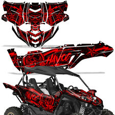 Yamaha YXZ1000R Side by Side Graphic Kit Decal Wrap YXZ 1000 R SXS UTV HAVOC RED