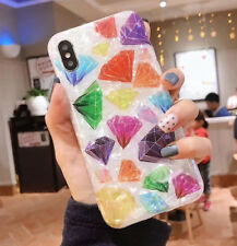 New Diamond Phone Case For iPhone XS MAX XR X 8 7 6 6s Plus Soft Silicone Shell