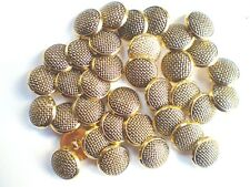 25 ANTIQUE GOLD BUTTONS SIZE21mm