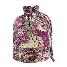 NWT Vera Bradley Ditty Bag in Very Berry Paisley Gym everything 10132 063 JE