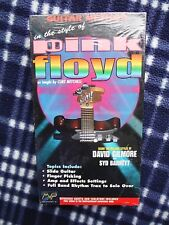 Sealed VHS Video: Guitar Method in the Style of PINK FLOYD, DAVID GILMOUR (1997)