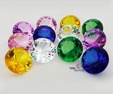 Glasdiamant Dekodiamant aus Kristallglas  Ø50mm