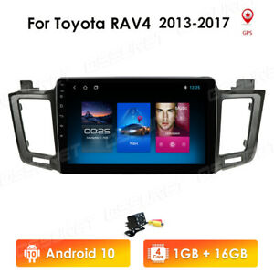 Autoradio Für Toyota RAV4 2013-2017 Bluetooth USB GPS Navi Android 10 Wifi DAB+