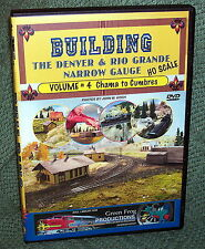 "cp094 MODEL RAILROAD VIDEO DVD ""BUILDING THE D&RG VOL.4"" HO SCALE"