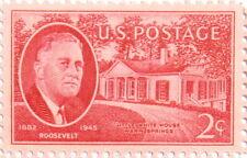 1945 Roosevelt 2 Cent US Postage Stamp