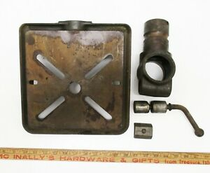 """VINTAGE CRAFTSMAN 15"""" MODEL 103 FLYING HEAD DRILL PRESS TABLE ASSEMBLY"""