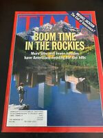 Time Magazine Vintage September 6 1993 Boom Time In the Rockies+ Michael Jackson