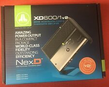 JL AUDIO XD600/1v2 AMPLIFIER 600 WATT MONO SUBWOOFER CAR SUB AMP NEW XD6001 XD