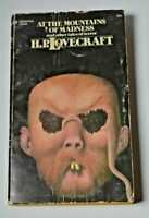At the Mountains of Madness H.P. Lovecraft Tales of Terror Ballantine PB 1974