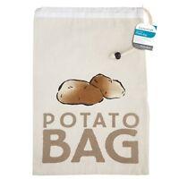 Kitchen Craft Stay Fresh Potato or Onion Preserving Canvas Storage Bag