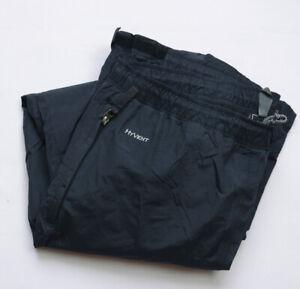 The North Face HyVent Pant Trousers mens size M Medium Regular black WATERPROOF
