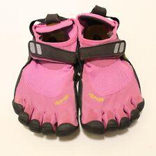 Vibram Size 37 Fivefingers Shoes Black Pink Barefoot Running Washable Outdoor