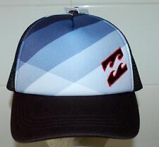 BILLABONG CAP HAT NEW MENS Unisex  Pursuit TRUCKER Grey Blue1 Size Clip SKATE