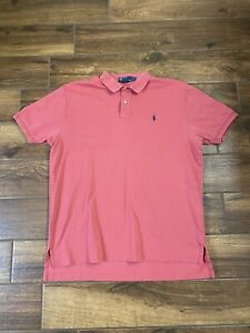 Ralph Lauren Polo Red Classic Fit Men's Shirt Size XL Button Up Collared A2