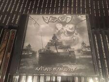 VEXED Endless Armageddon CD ITALIAN BLACK THRASH METAL SODOM DESTRUCTION