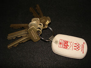 United Parcel Service UPS Key Chain a