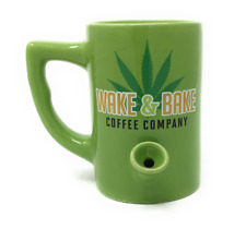 Island Dogs 59990 Wake and Bake 10oz. Coffee Mug - Green