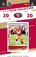 2020 Panini San Francisco 49ers Team Set 10 NFL Cards