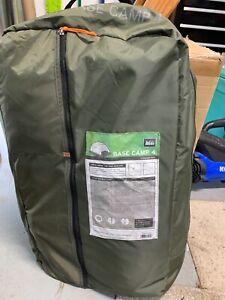 REI BaseCamp 4 Tent Item #777753 4 Person NEW w/waterproof floor mat